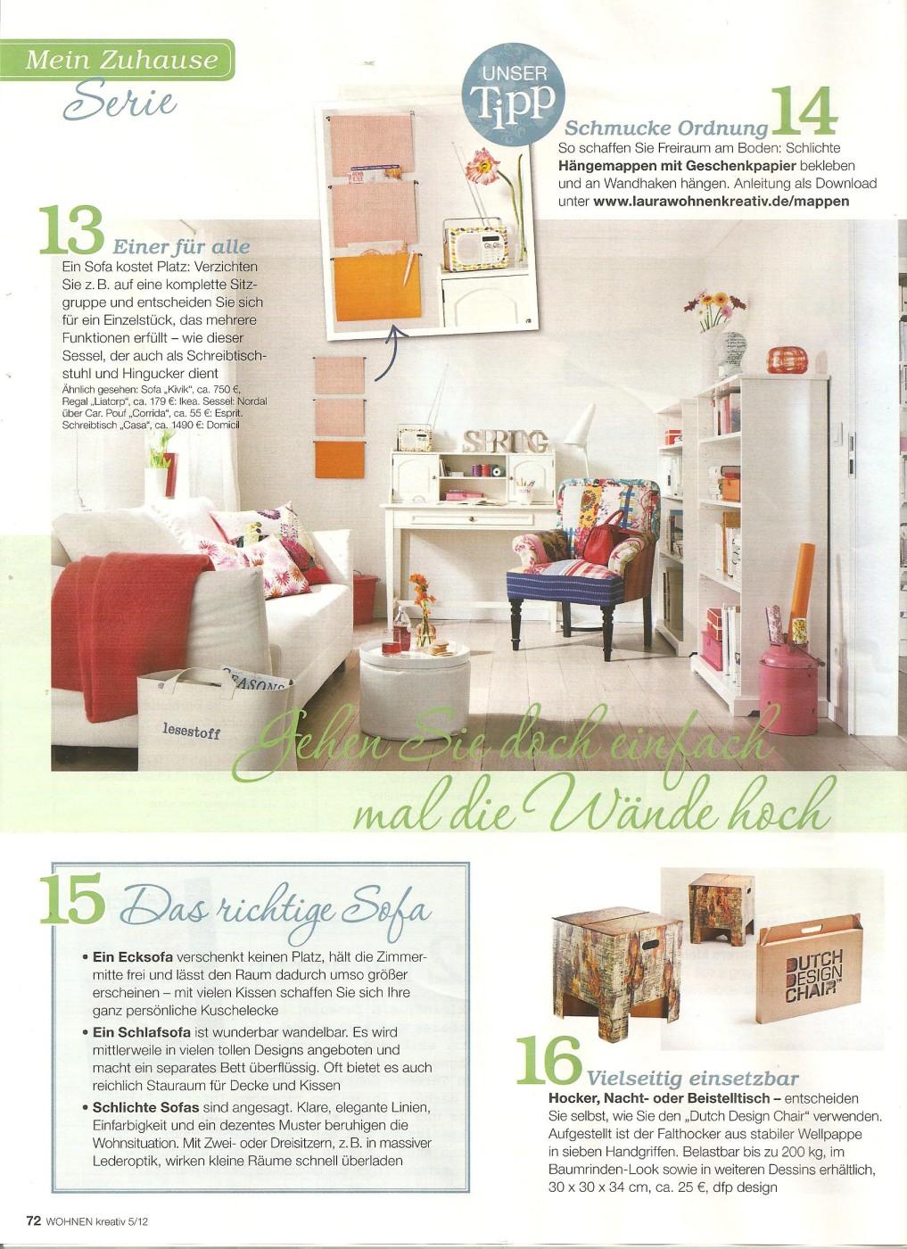 In the press – Dutch Design Chair – Dutch Design Brand – Red Dot Award