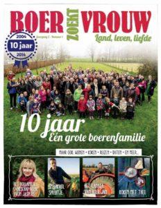 Boer zoekt Vrouw Magazine - januari 2015 Wool en Cow