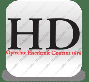 Lampen Haarlems Dagblad  februari 2015