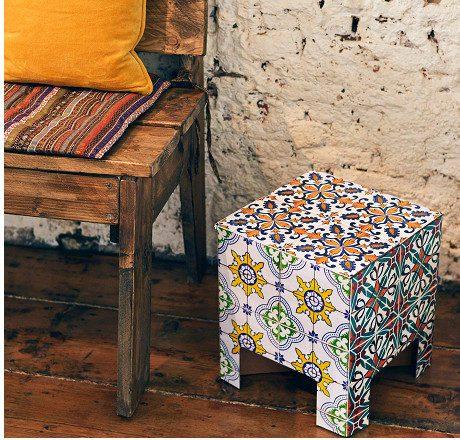 Portuguese Tiles Chair