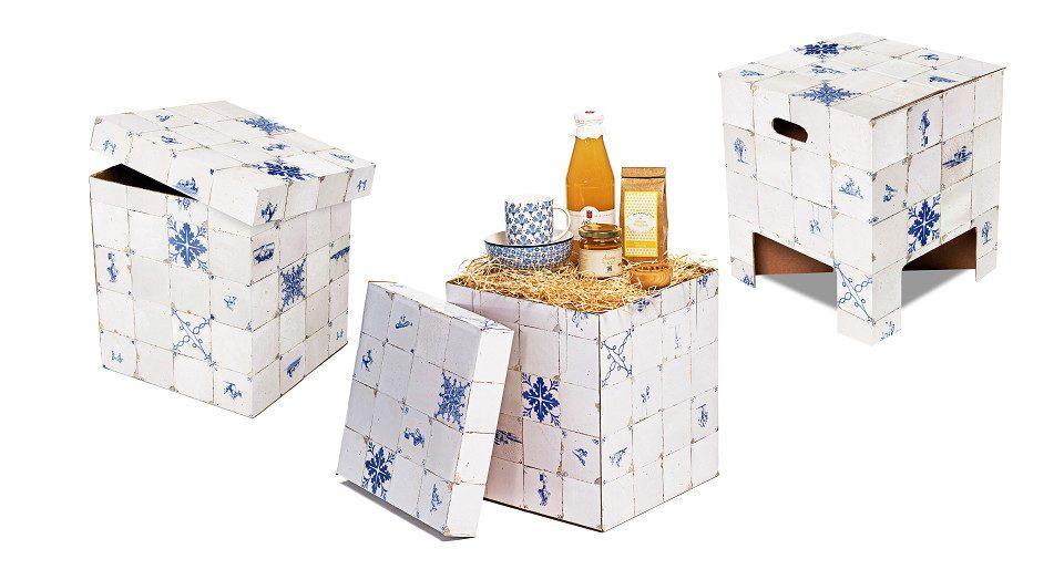 Dutch Design Chair Kerst Dutch Tiles