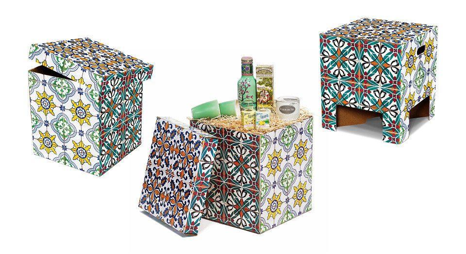 Dutch Design Chair Kerst Portuguese Tiles