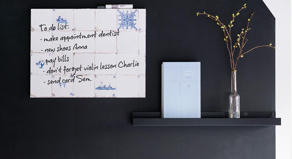 Whiteboard Dutch tiles