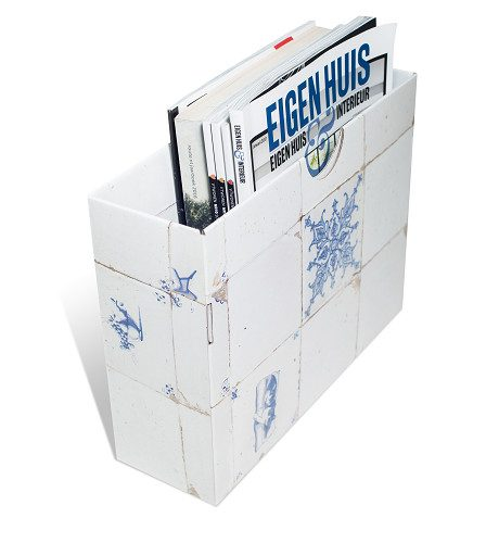 Single Magazine Holder Dutch Tiles