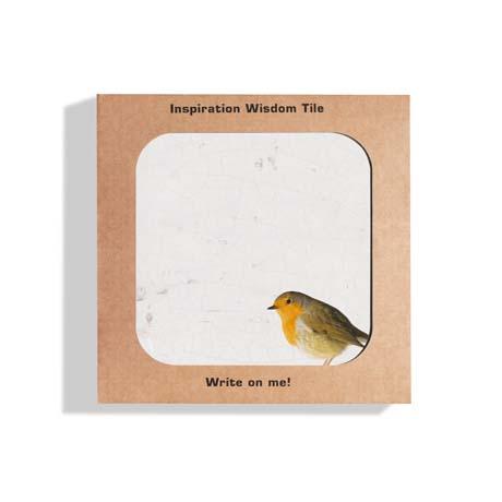 Tegeltjeswijsheid Wisdom Tile Robin