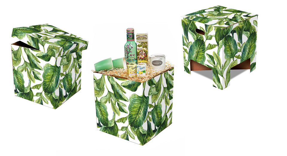 Dutch Design Chair Kerst Green Leaves