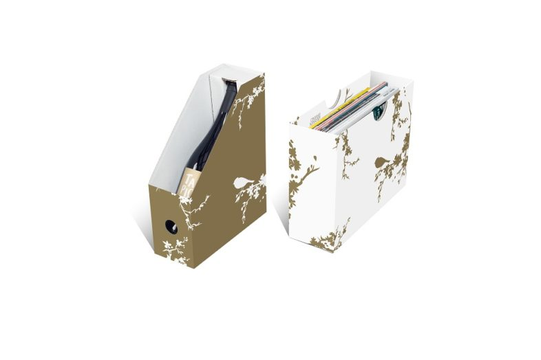 Double Magazine Holder Gold