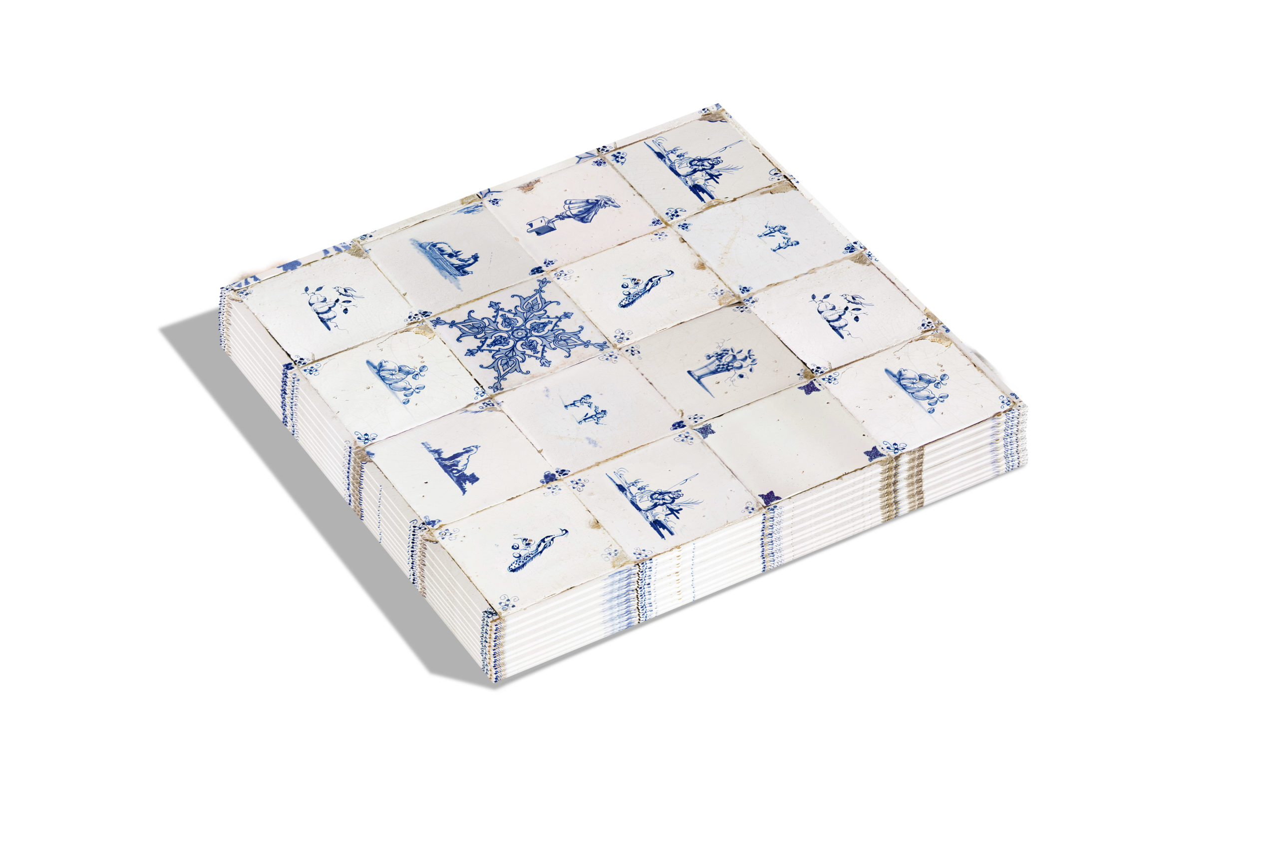 Dutch Tiles Kerst servetten