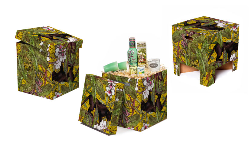 NEW Dutch Design Chair Kerst Ochre Panther