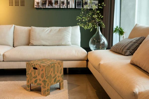 Dutch Design Chair Natural leaves bank