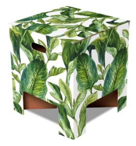 Dutch Design Chair Green Leaves product