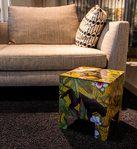 NEW Dutch Design Chair Kerst Ochre Panther
