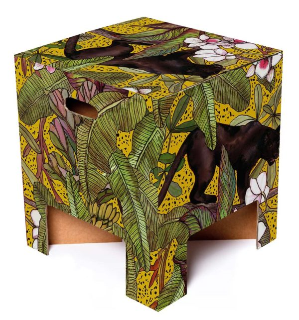 Dutch Design Chair - Ochre Panther