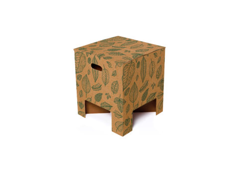 NEW Dutch Design Chair Christmas Natural Leaves