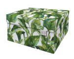 Green Leaves Storage Box