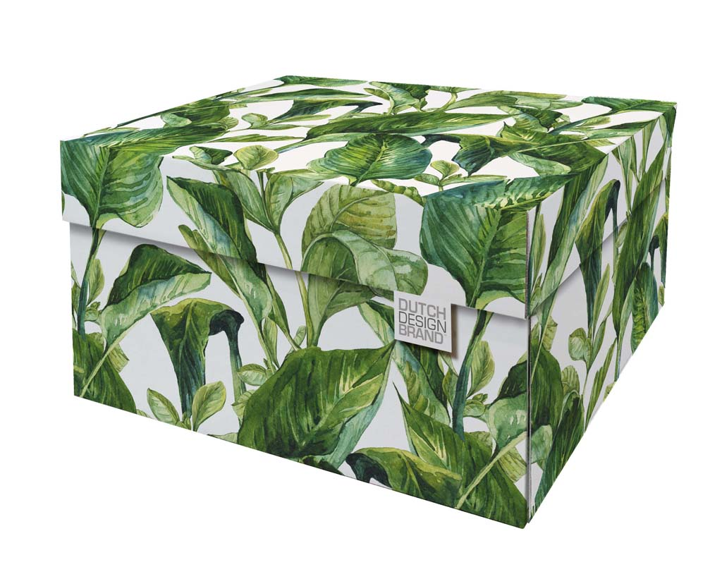 Green Leaves Storage Box