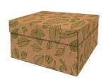 Natural Leaves Storage Box