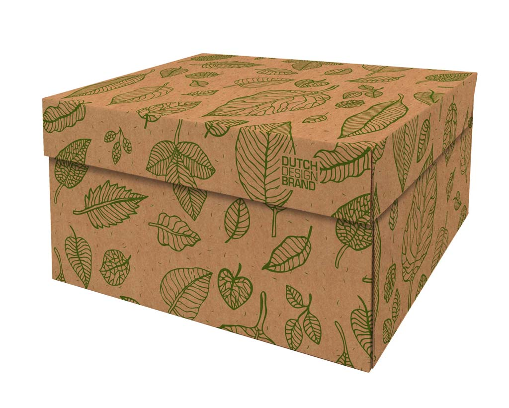 Natural Leaves Storage Box