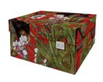 Dutch Design Storage Box Kerst Red Panther