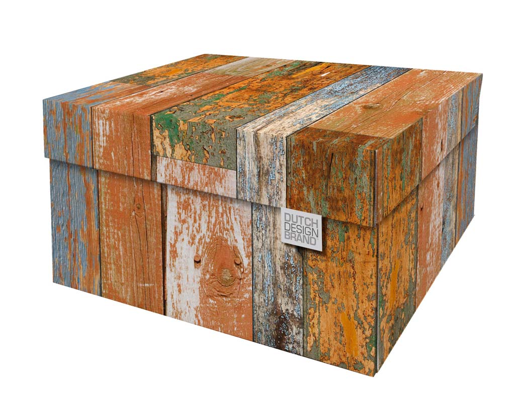 Scrapwood Storage Box