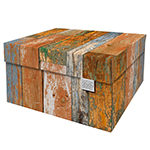 Dutch Design Storage Box Kerst Scrapwood