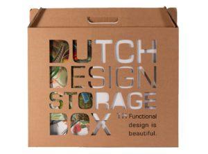 Dutch Design Storage Box Art of Nature in verpakking