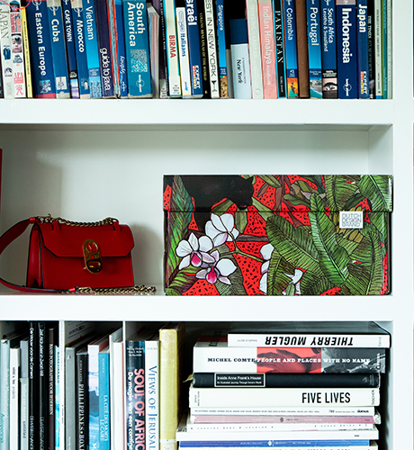 Dutch Design Storage Box Christmas Red Panther