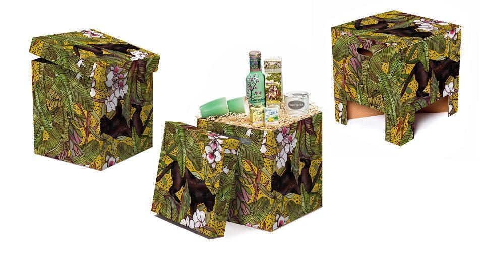 NEW Dutch Design Chair Christmas Ochre Panther