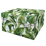 Dutch Design Storage Box Christmas Green Leaves