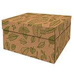 Dutch Design Storage Box Kerst Natural Leaves