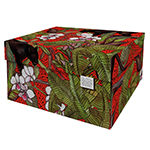 Dutch Design Storage Box Red Panther
