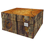 Dutch Design Storage Box Kerst Tree Trunk