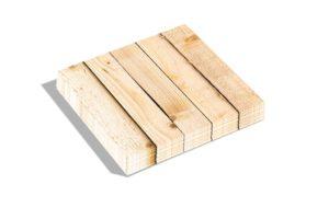 Leuke servetten woodstack