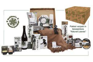 Dutch Design Storage Box Natural Leaves