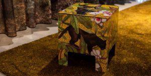 Dutch Design Chair Ochre Panther