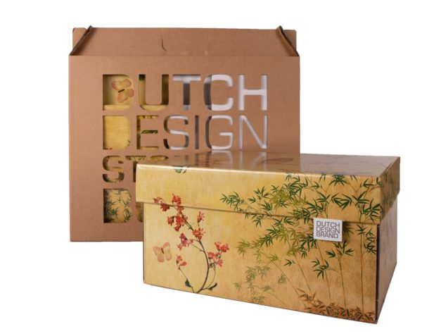 Dutch Design Storage Box Japanese Blossom