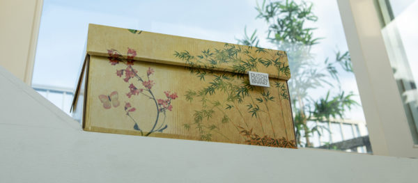 Dutch Design Storage Box Japanese Blossom