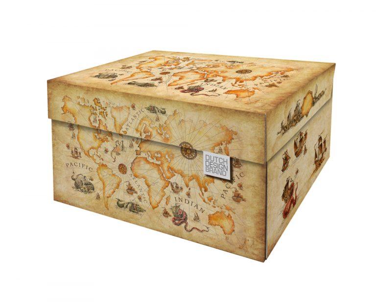NEW Ancient World Map Storage Box