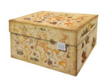 NEW Dutch Design Storage Box Kerst Ancient World Map