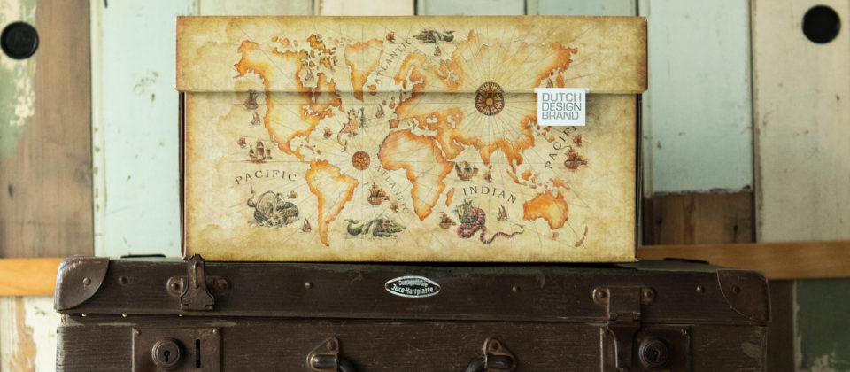 NEW Ancient World Map Storage Box