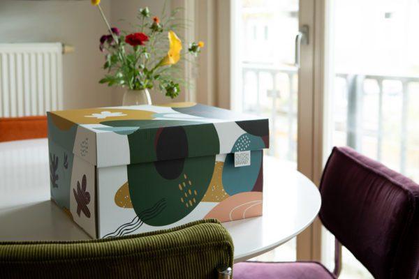 Dutch Design Storage Box Doodles