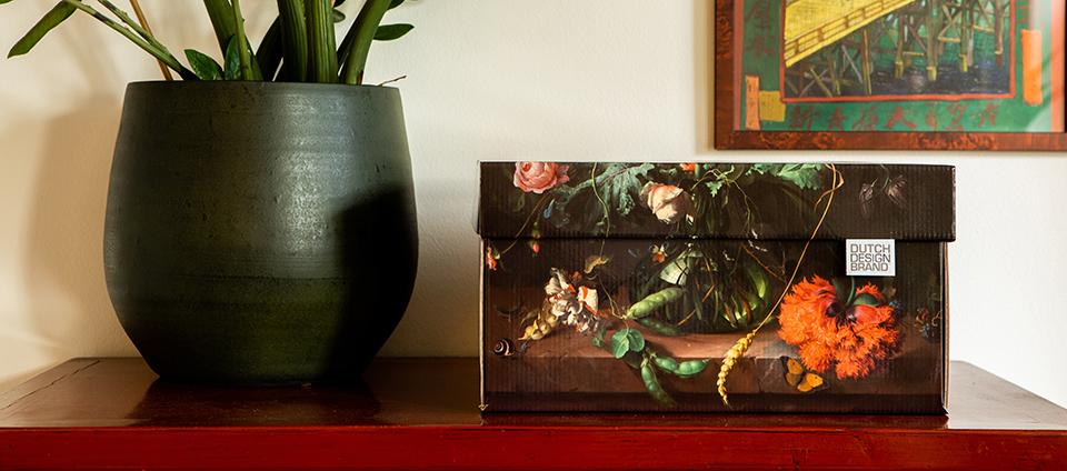 Flowers Storage Box