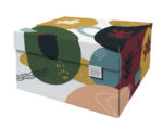 NEW Dutch Design Storage Box Kerst Doodles