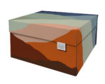 NEW Dutch Design Storage Box Kerst Earth