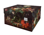 NEW Dutch Design Storage Box Kerst Flowers