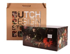 Dutch Design Storage Box Flowers