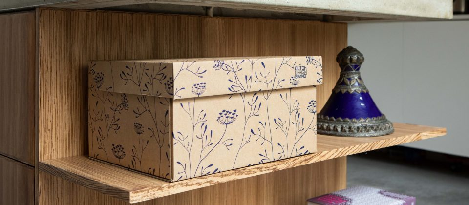 NEW Dutch Design Storage Box Kerst Heracleum
