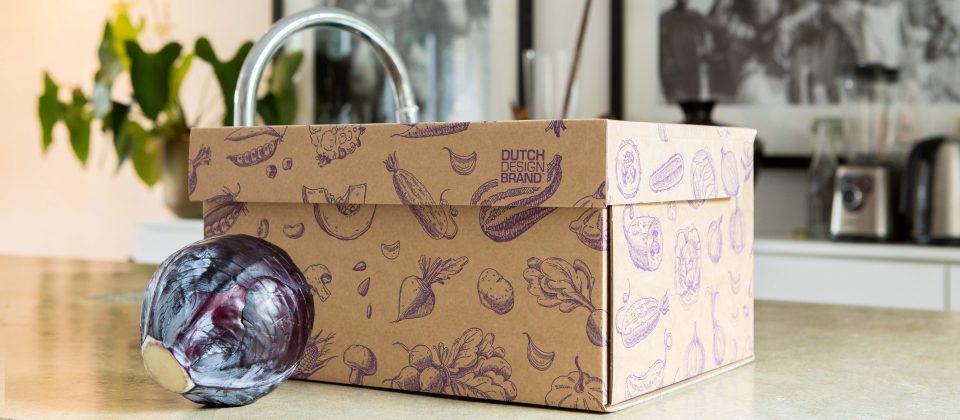 NEW Dutch Design Storage Box Vegetables