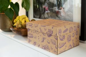 Dutch Design Storage Box Vegetables