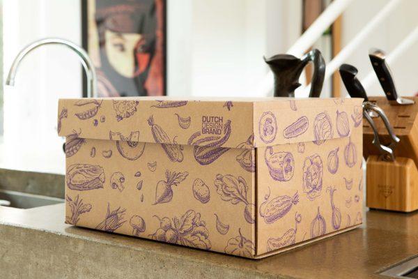 Dutch Design Storage Box Vegetables